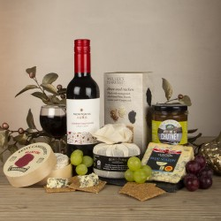Wine and Cheese Selection Slate