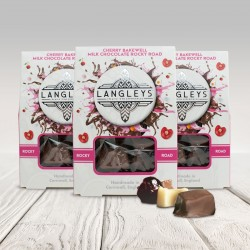 Milk Chocolate Cherry Bakewell Rocky Road Chocolates