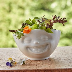 White Porcelain 'Laughing' Bowl