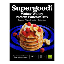 Wakey Wakey Protein Pancake Mix: Gluten Free, Dairy Free, Vegan Friendly and Deliciously All-Natural Pancake Mix (Makes 12 Pancakes)