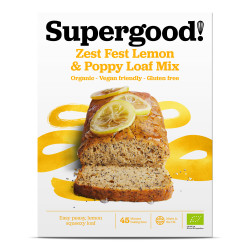Zest Fest Lemon & Poppy Loaf Mix : Gluten Free, Dairy Free, Vegan Friendly and Deliciously All-Natural Loaf Mix