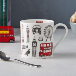 Big Smoke Fine Bone China Mug