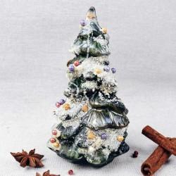 Hand-painted Dark Chocolate Christmas Tree