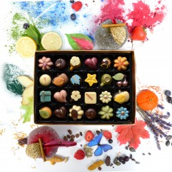 Nono Cocoa - 24 Collection - Vegan Superfood Chocolate Box