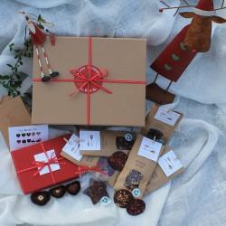 Merry Christmas Sharing Vegan Chocolate Gift Hamper