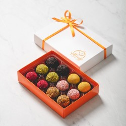 Brazilian Brigadeiro Truffles | The Lux Collection Box