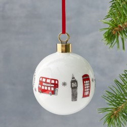 Simply London Bauble Hanging Ornament