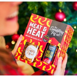 Pork Crackling Jar & Hot Sauce Gift Pack