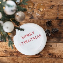 Personalised Merry Christmas Cake Topper