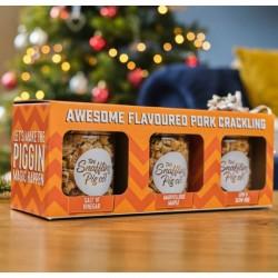 Sweet & Bold Pork Crackling Gift Set
