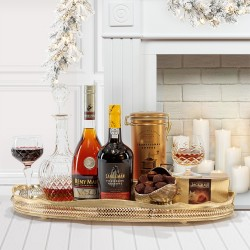 The Kingston Christmas Brandy and Port Gift Box