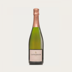 Case of Luxury Langham Rose Sparkling Wine - 6 Bottles