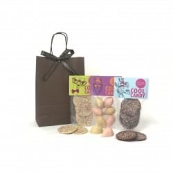 Retro Vegan Chocolate Gift Bag