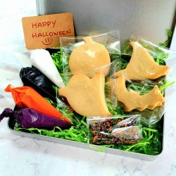 Halloween DIY Biscuit Decorating Kit