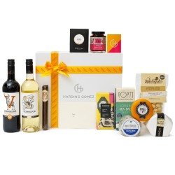Luxury Foodie Cheese & Wine Gourmet Gift Box Hamper | HG Will's