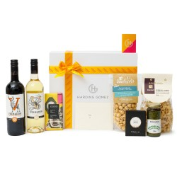 Gourmet Vegan Food & Wine Gift Box Hamper | Share Today, Vegan Tomorrow