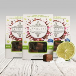Milk Chocolate Lime & Seasalt Rocky Road Chocolates