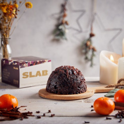 Luxury Mulled Gin Christmas Pudding | Gluten Free and Vegan