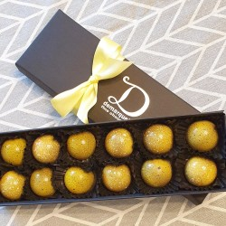 Citrus Collection - Box of 12 Caramel Chocolates