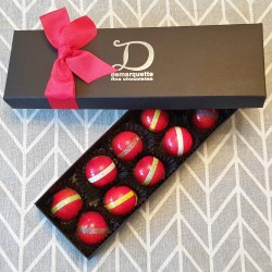 4 Berry Seasons Chocolate Caramels Box