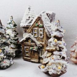 Chocolate House and Christmas Tree Gift Set