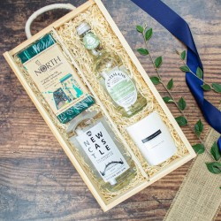Newcastle Gin Box | Luxury Gin Gift Hamper.
