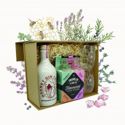Luxury Rhubarb Old Tom Artisan Gin Hamper