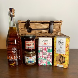 French Sweet Gift Hamper With Organic Cider
