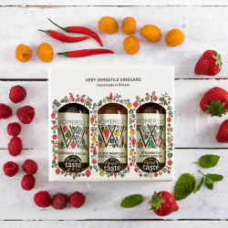 The Womersley Vinegars and Recipes Gift Box