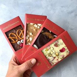Special Edition Christmas Couture Chocolate Bar Library (4 bars)