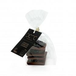 One Bite – Dark chocolate 65% with California Plums 85g – BIO