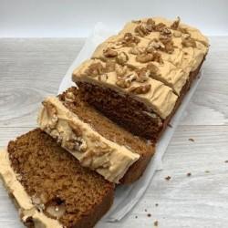 Coffee & Walnut Loaf Cake