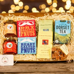 The Christmas Express Gift Hamper with Dorset Local Produce