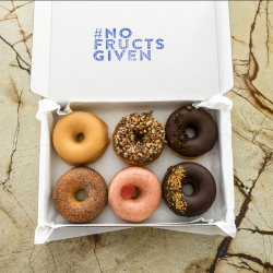 Keto Donuts | Pick n Mix (Box of 6) | Keto, No Refined Sugar, Gluten free
