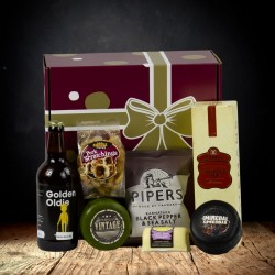 """You're Not Old, You're Vintage"" Cheese Hamper"