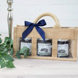 Trio of Carwinley's Homemade Preserves Gift Bag