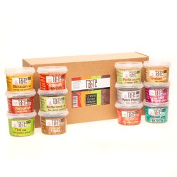 'Taste the World' 12 Rub Hamper Gift Box