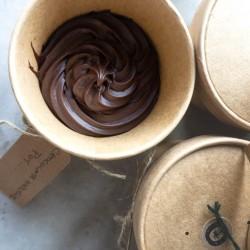 Vegan & Gluten Free Brownie Melting Pots (Box of 4)