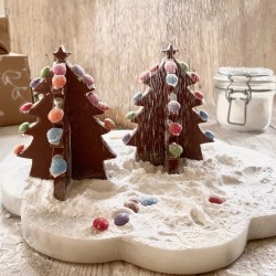Decorate Your Own Chocolate Christmas Trees