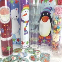 Santa Christmas Advent Calendar Fill Your Own Kit