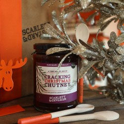 Cracking Christmas Chutney 600g + spoon