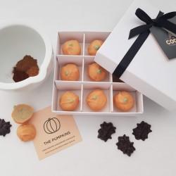 The Pumpkins - Spiced Pumpkin Pie Flavour White Chocolate Truffles