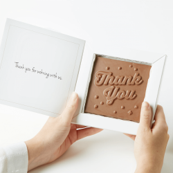 Branded Chocolate Card