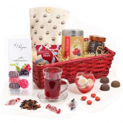 Valentino - Italian Hamper Gift Basket for her, for him or to share