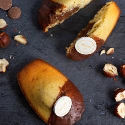 Hazelnut Praline & Chocolate Madeleines (Box of 9)