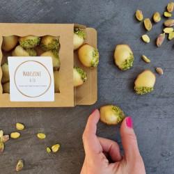 Orange Blossom & Pistachio Mini Madeleines (Box of 14)
