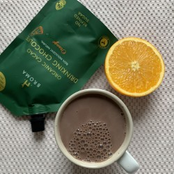 Organic Cacao Drinking Chocolate with Orange