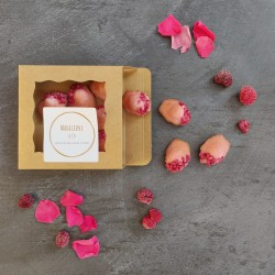 Rose & Raspberry Mini Madeleines (Box of 14)