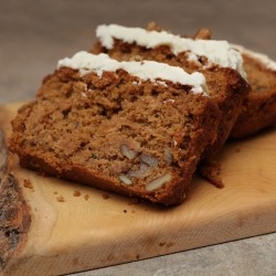 Carrot and Walnut Loaf Cake