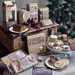 Christmas Basket Hamper of Baked Treats